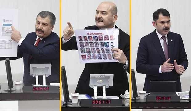 Ahmet Hakan: Üç bakanın Meclis'teki gece yarısı performansı