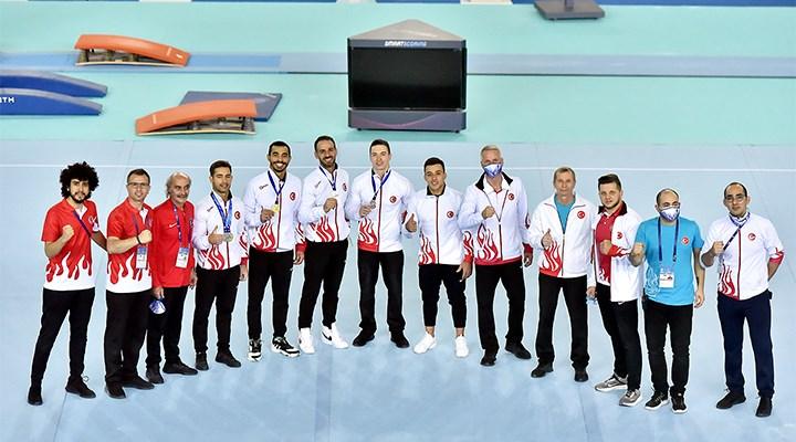 Avrupa Erkekler Artistik Jimnastik Şampiyonası'nda Türkiye'ye 8 madalya
