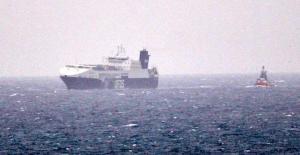Çanakkale Açıklarında Ro-Ro Gemisinde Yangın