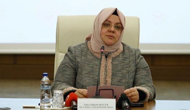 Bakan Zümrüt Selçuk'tan, 79 mezarın tahrip edilmesine tepki!
