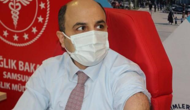 Samsun İl Sağlık Müdürü Muhammet Ali Oruç koronavirüse yakalandı