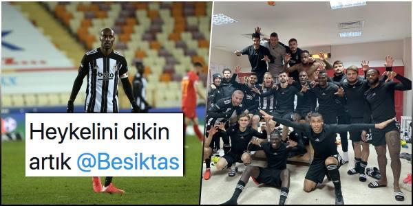 Beşiktaş, Atiba ile Güldü! Malatya'da Galibiyeti Tek Golle Alan Kartal Zirve Yarışını Sürdürdü