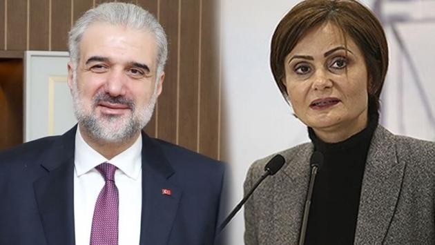 Osman Nuri Kabaktepe'den Canan Kaftancıoğlu'na kahve daveti