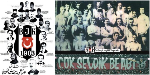 Serencebey Mahallesi'nde Bir Grup Gencin Kurduğu Türkiye'nin İlk Spor Kulübü Beşiktaş 118 Yaşında!
