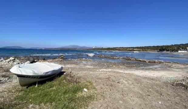 Yunanistan'daki 6,2'lik depremin ardından Çeşme'de deniz suyu 50 metre çekildi