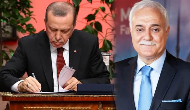 Erdoğan imzayı attı: Nihat Hatipoğlu'na kritik görev! Peş peşe atama haberleri