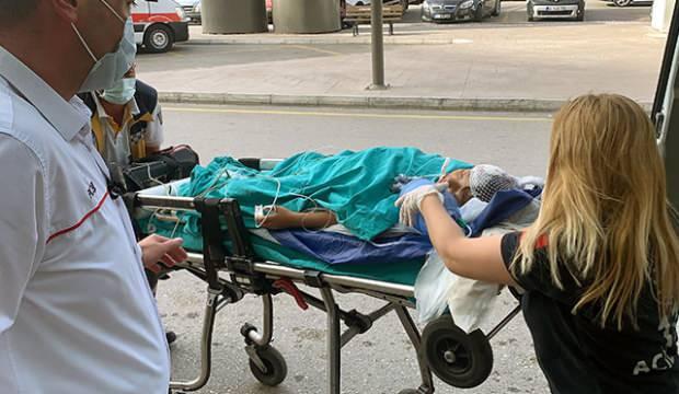 Evde başından tabancayla vurulan çocuk ağır yaralandı