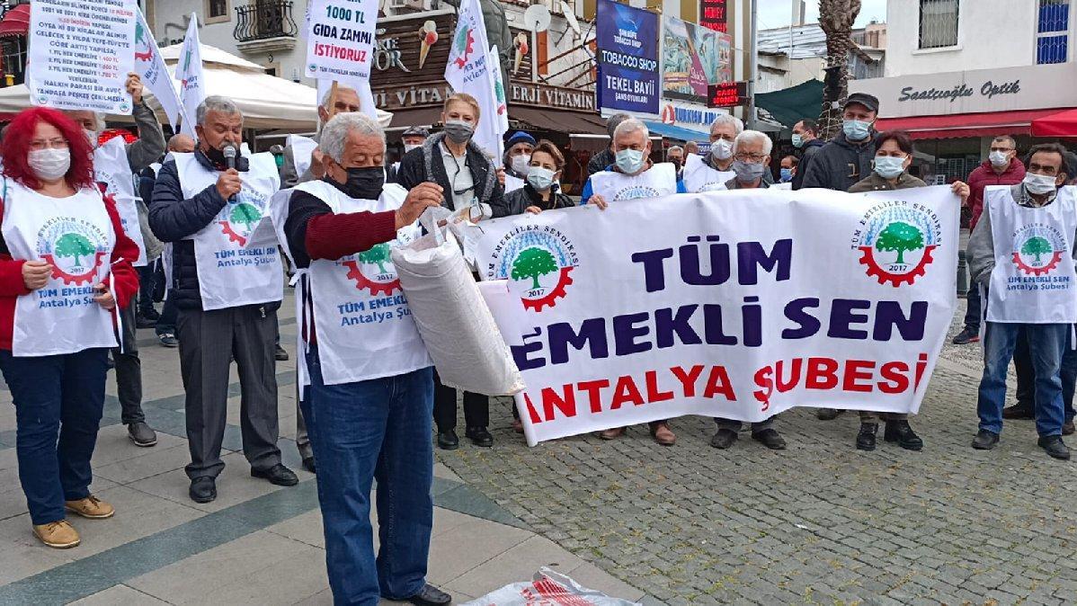 Emeklilerden iktidara: Geçinemiyoruz isyandayız