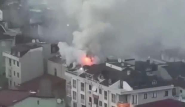 Kadıköy'de iftara dakikalar kala yangın paniği: 1 yaralı