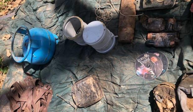 Tunceli'de 'Eren-7 Operasyonu'nda 9 sığınak imha edildi