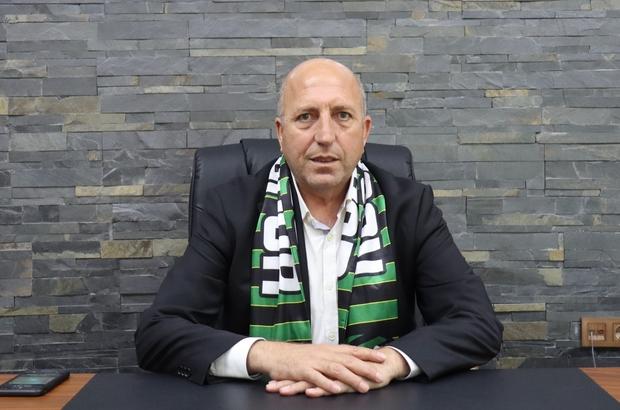 (Özel haber) Kocaelispor'da hedef güçlü altyapı ve tesisleşme ile Süper Lig'e çıkmak Kocaelispor Başkanı Engin Koyun: